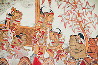 Detail of painted Hall of Justice at Kerta Gosa in Klungklung in Bali Indonesia.jpg