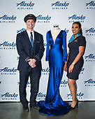 Alaska Airlines Luly Yang event step and repeat