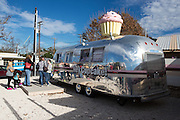 Hey Cupcake Airstream trailer on South Congress, Austin, Texas