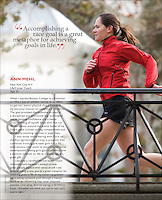 Women's Running Magazine, January 2009 issue.