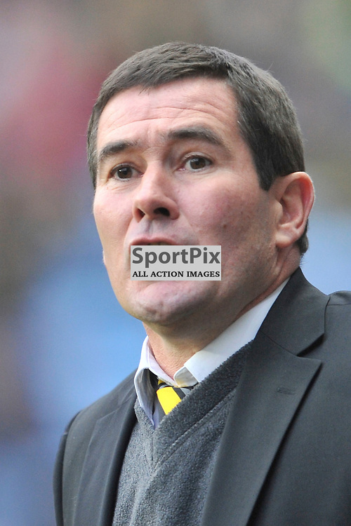 Nigel Clough Manager, Burton, Albion, Coventry City v Burton Albion, Ricoh Arena,  Sky Bet League 1, Saturday 16th JJanuary 2016, (Mike Capps/Sportpix)