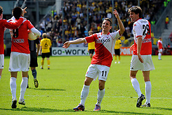 16-05-2010 VOETBAL: FC UTRECHT - RODA JC: UTRECHT<br /> FC Utrecht verslaat Roda in de finale van de Play-offs met 4-1 en gaat Europa in / Dries Mertens en Jan Wuytens<br /> ©2010-WWW.FOTOHOOGENDOORN.NL