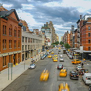 View of the West Side from the High Line, NYC. Photo by Alabastro Photography.