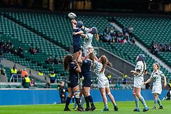 Oxford University Women v Cambridge University Women - Women's Varsity Match, Twickenham, London, UK on 06 December 2018. Photo: Simon Parker