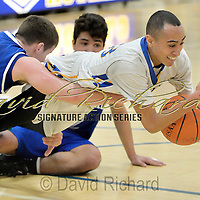 2.23.2016 Kidron Central Christian at Lake Ridge Academy Boys Varsity Basketball