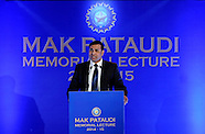 Cricket - 3rd Annual Pataudi Memorial Lecture - Kolkata