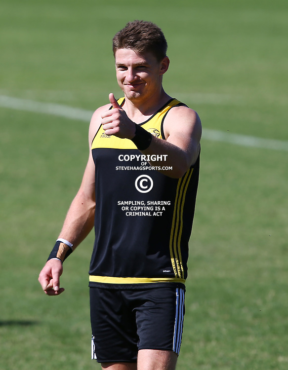 DURBAN, SOUTH AFRICA, 3, May 2016 - Beauden Barrett during the Hurricanes training session held at Northwood School Durban North , (Photographer Steve Haag) <br /> <br /> Images for social media must have consent from Steve Haag