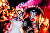 Mexico-Oaxaca, the Day of the Dead