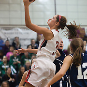 12/27/11 Wilmington DE: Ursuline Academy Senior guard Meghan Carter Williams #3 makes a layup during a Diamond State Classic game Tuesday Dec. 27, 2011 at St. Elizabeth High School High School in Wilmington Delaware...Special to The News Journal/SAQUAN STIMPSON