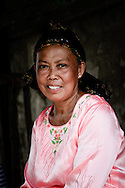 Philippines, Tawi Tawi. Portrait of a muslim woman taken on Simunul Island, the place when islam in the Philippines was born.