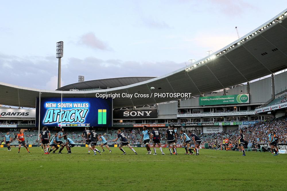 Waratahs v Rebels, Super Rugby Round 6. Played at Allianz Stadium, Sydney Australia on Sunday 3 April 2016. Copyright Photo: Clay Cross / photosport.nz
