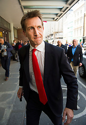 © London News Pictures. 16/05/2015. Labour MP Dan Jarvis arriving at Progress Annual Conference held at TUC Congress House in London to discuss the labour leadership race following a heavy defeat in the recent general election..  Photo credit: Ben Cawthra/LNP