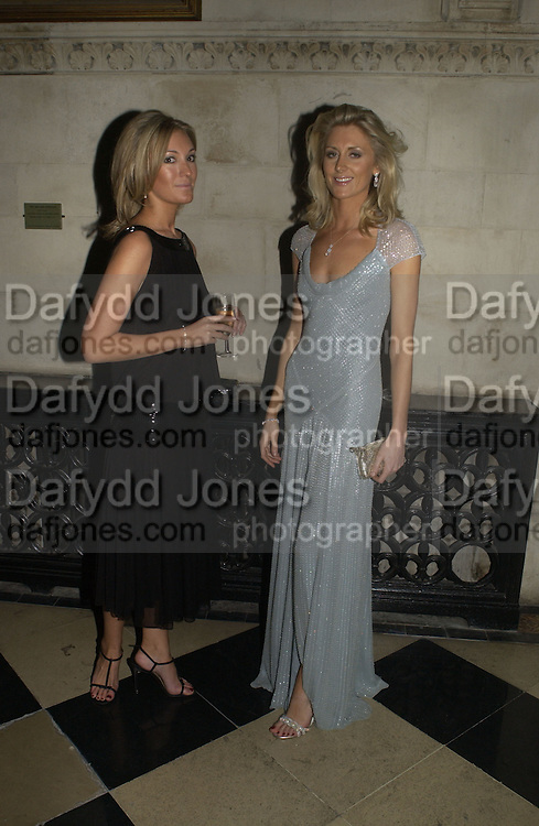 Olivia Buckingham and Lady Emily Compton. Andy and Patti Wong host  party to cleebrate then Chinese New Year of the Dog. Royal Courts of Justice. Strand. London. 28 January 2006. © Copyright Photograph by Dafydd Jones 66 Stockwell Park Rd. London SW9 0DA Tel 020 7733 0108 www.dafjones.com