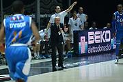 DESCRIZIONE : Bologna campionato serie A 2013/14 Acea Virtus Roma Enel Brindisi <br /> GIOCATORE : Luca Dalmonte<br /> CATEGORIA : allenatore coach esultanza<br /> SQUADRA : Acea Virtus Roma<br /> EVENTO : Campionato serie A 2013/14<br /> GARA : Acea Virtus Roma Enel Brindisi<br /> DATA : 20/10/2013<br /> SPORT : Pallacanestro <br /> AUTORE : Agenzia Ciamillo-Castoria/GiulioCiamillo<br /> Galleria : Lega Basket A 2013-2014  <br /> Fotonotizia : Bologna campionato serie A 2013/14 Acea Virtus Roma Enel Brindisi  <br /> Predefinita :