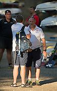 Aiguebelette, FRANCE, Facing, Maurice HAYES.     2015 FISA World Rowing Championships, <br /> Venue, Lake Aiguebelette - Savoie. <br /> Sunday  30/08/2015  [Mandatory Credit. Peter SPURRIER/Intersport Images].