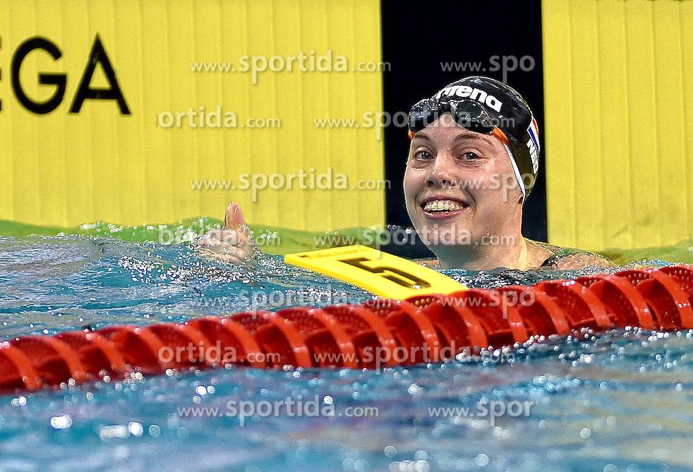 02-04-2015 NED: Swim Cup, Eindhoven<br /> Femke Heemskerk 50m vrij<br /> Photo by Ronald Hoogendoorn / Sportida