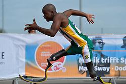 03/08/2017; Mahlangu, Ntando, F42, RSA at 2017 World Para Athletics Junior Championships, Nottwil, Switzerland