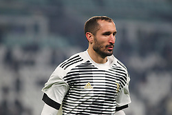 December 23, 2017 - Turin, Piedmont, Italy - Giorgio Chiellini (Juventus FC) before the Series A football match between Juventus FC and AS Roma at Allianz Stadium on 23 December, 2017 in Turin, Italy. (Credit Image: © Massimiliano Ferraro/NurPhoto via ZUMA Press)
