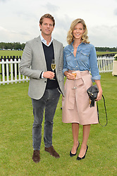 NICK & OLIVIA WILKINSON  at the Cartier Queen's Cup Final 2016 held at Guards Polo Club, Smiths Lawn, Windsor Great Park, Egham, Surry on 11th June 2016.