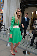 POPPY COTTERELL;  Vogue's Fashion night out special opening of the Halcyon Gallery.  New Bond St. London. 6 December 2012.