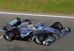 Motorsports / Formula 1: World Championship 2011, Testing in Barcelona, test, 08 Nico Rosberg (GER, Mercedes GP Petronas),