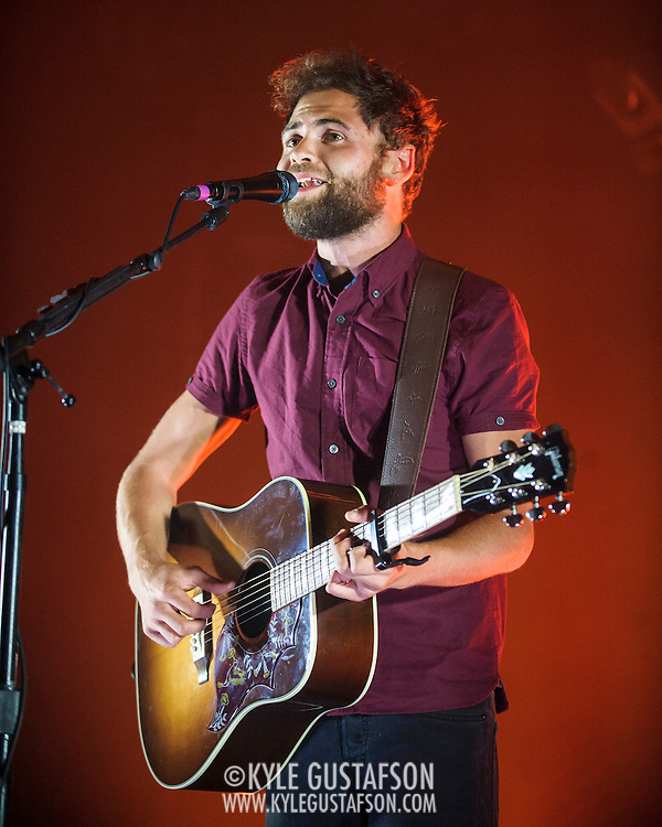 "WASHINGTON, DC - August 6, 2014 - British singer-songwriter Passenger performs at Echostage in Washington, D.C. His 2012 single ""Let Her Go"" reached #1 in more than 15 countries. (photo by Kyle Gustafson / For The Washington Post)"