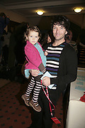 Evie and Wayne Roberts, Cirque de Soleil Premiere of Alegr'a. Royal Albert Hall. London. 5 January 2006.  -DO NOT ARCHIVE-© Copyright Photograph by Dafydd Jones. 248 Clapham Rd. London SW9 0PZ. Tel 0207 820 0771. www.dafjones.com.