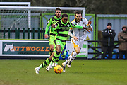 Forest Green Rovers Reece Brown(10) runs forward during the EFL Sky Bet League 2 match between Forest Green Rovers and Port Vale at the New Lawn, Forest Green, United Kingdom on 6 January 2018. Photo by Shane Healey.