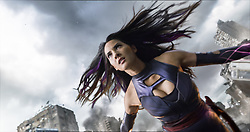 RELEASE DATE: May 27, 2016.TITLE: X-Men: Apocalypse.STUDIO: Twentieth Century Fox Films.DIRECTOR: Bryan Singer.PLOT: With the emergence of the world's first mutant, Apocalypse, the X-Men must unite to defeat his extinction level plan.STARRING: Olivia Munn.(Credit Image: © Twentieth Century Fox Film/Entertainment Pictures/ZUMAPRESS.com)