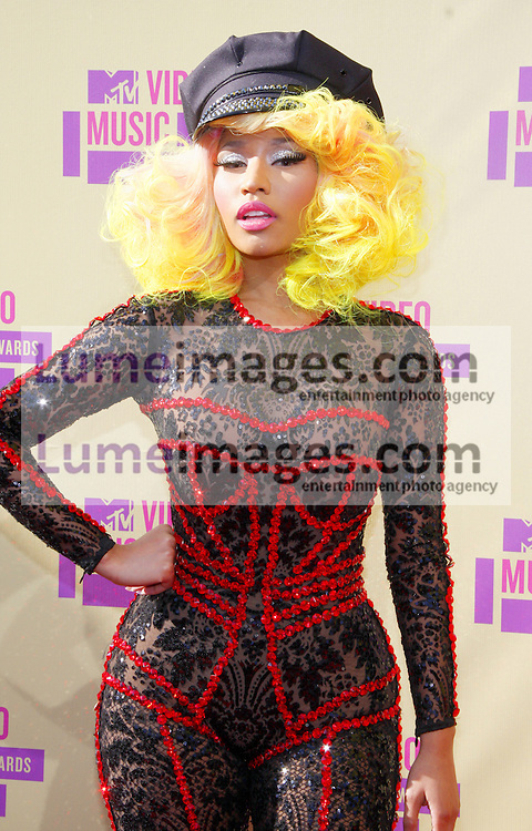 Nicki Minaj at the 2012 MTV Video Music Awards held at the Staples Center in Los Angeles, United States on September 6, 2012. Credit: Lumeimages.com