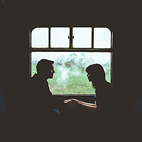 Off the Rails ~ Anna & Myles' Embsay to Bolton Abbey Steam Railway Engagement Shoot