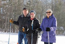 Thornton Oaks retirement center winter activity day