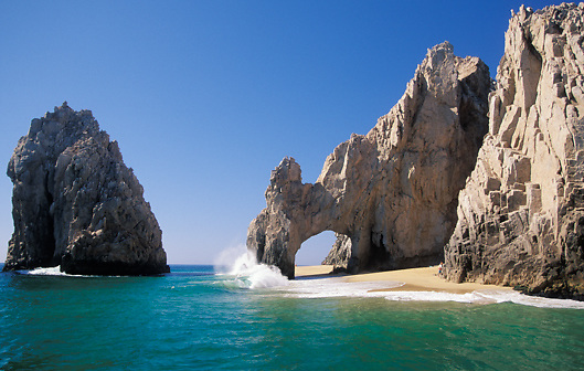 The Arch at Cabo San Lucas in Baja; Mexico