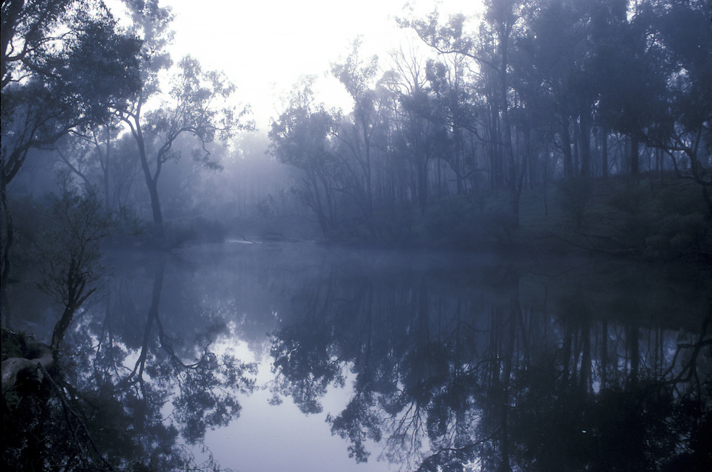 Blackwood River, the longest river in the south, the Blackwood River Valley Western Australia. ©David Dare Parker