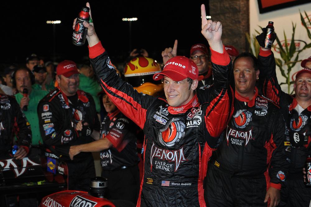 Marco Andretti, Iowa Corn Indy 250, Iowa Speedway, Newton, IA USA 6/25/2011