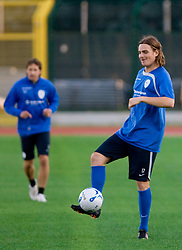 Nejc Pecnik of Slovenian National football team at practice a day before the last 2010 FIFA Qualifications match between San Marino and Slovenia, on October 13, 2009, in Olimpico Stadium, Serravalle, San Marino.  (Photo by Vid Ponikvar / Sportida)