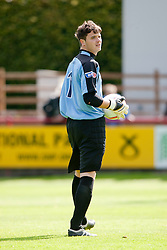 Brechin City's David Scott..Brechin City 1 v 2 Falkirk, The Ramsden Cup..©Pic : Michael Schofield.