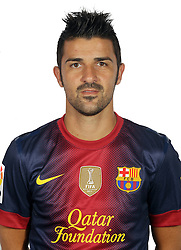 F.C. Barcelona 2012 / 2013. David Villa...Photo: Gregorio / ALFAQUII