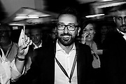 Alfonso Bonafede. Convention of the governing coalition's populist Five Star Movement (M5S) on October 21, 2018 in Rome. Christian Mantuano / OneShot