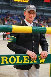 Zoer Albert (NED)<br /> New number one on the Rolex FEi ranking<br /> CSI-W Partner Pferd Leipzig 2010<br /> © Dirk Caremans