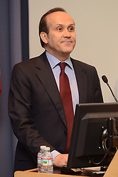 Turkish Ambassador to the United States, His Excellency Namik Tan addressing audience at his Public Lecture while visiting Yale University | 6 December 2012