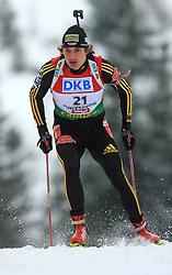Christoph Stephan (GER) at Men 20 km Individual at E.ON Ruhrgas IBU World Cup Biathlon in Hochfilzen (replacement Pokljuka), on December 18, 2008, in Hochfilzen, Austria. (Photo by Vid Ponikvar / Sportida)