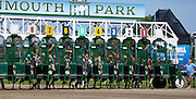1 of 4. The start of the second race at Monmouth Park in August of 2015.