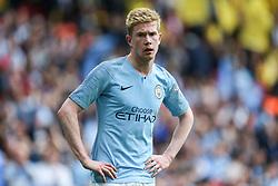 Kevin De Bruyne of Manchester City - Mandatory by-line: Arron Gent/JMP - 18/05/2019 - FOOTBALL - Wembley Stadium - London, England - Manchester City v Watford - Emirates FA Cup Final