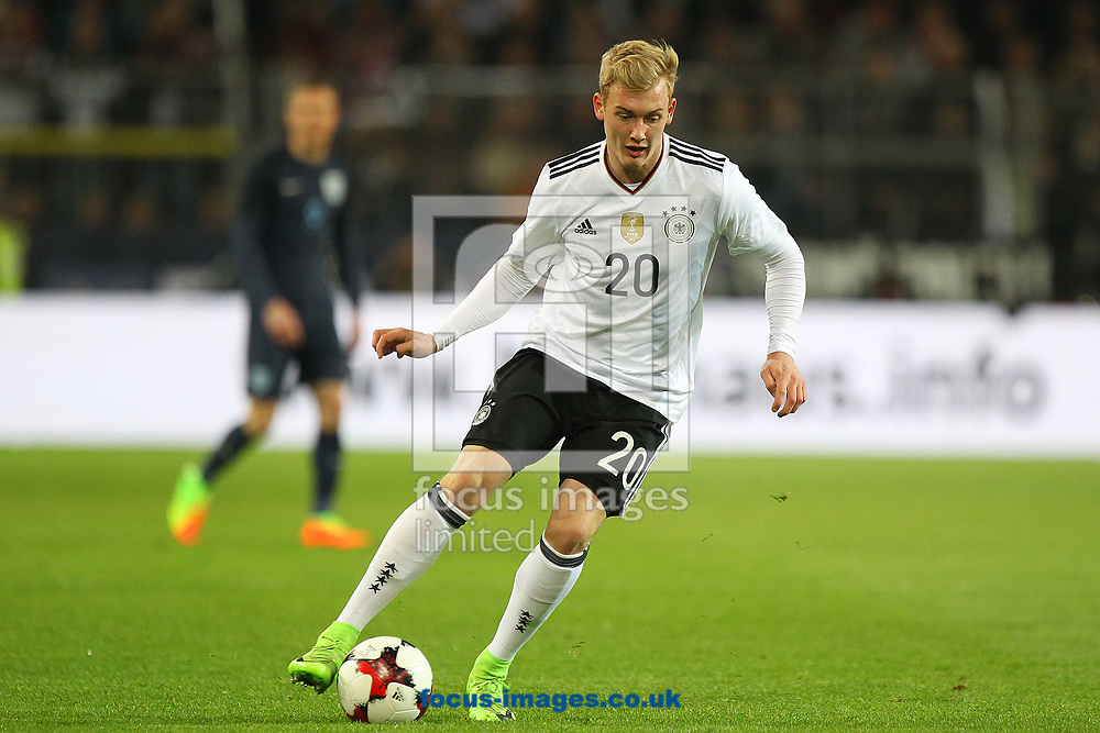 Julian Brandt of Germany in action during the International Friendly match at Signal Iduna Park, Dortmund<br /> Picture by Paul Chesterton/Focus Images Ltd +44 7904 640267<br /> 22/03/2017