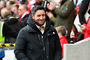 Bristol City manager Lee Johnson before the The FA Cup 5th round match between Bristol City and Wolverhampton Wanderers at Ashton Gate, Bristol, England on 17 February 2019.
