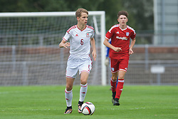NEWPORT, WALES - Wednesday, August 3, 2016: Regional Development Boys' Luc Noble during the Welsh Football Trust Cymru Cup 2016 at Newport Stadium. (Pic by Ian Cook/Propaganda)