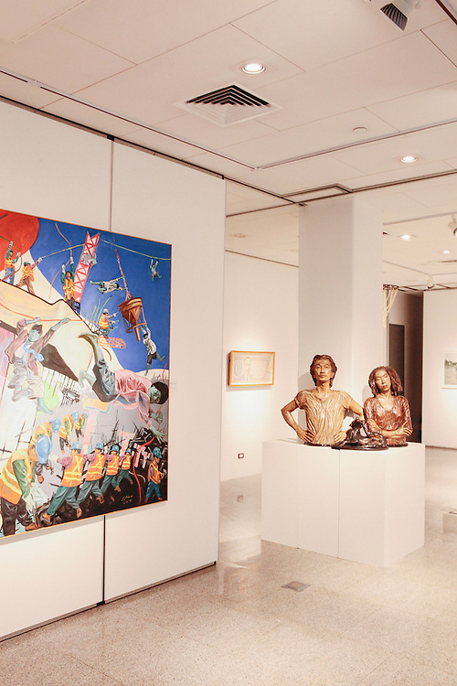 Contemporary Filipino art exhibition at Ayala Museum, Manila