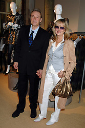 Model TWIGGY and her husband LEIGH LAWSON at a priavte view of Marks & Spencer's Autumn Winter collection 2007 held at One The Piazza, Covent Garden, London on 24th May 2007.<br /><br />NON EXCLUSIVE - WORLD RIGHTS