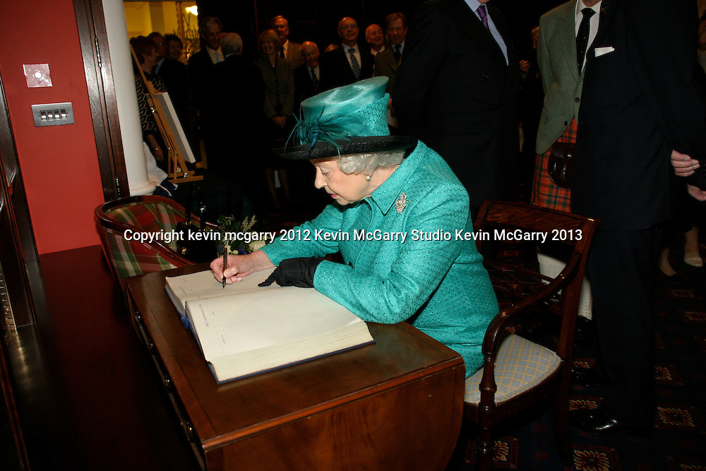 HRH The Queen, Caledonian Club, London and Balmoral Residence HRH The Queen and Prince Phillip, The Caledonian Club London, Balmoral Estate, Scotland,